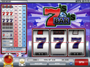 You are now playing Sevens and Bars Slot